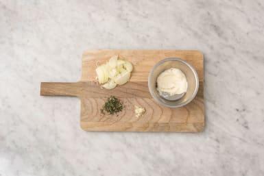 Préparer la mayonnaise