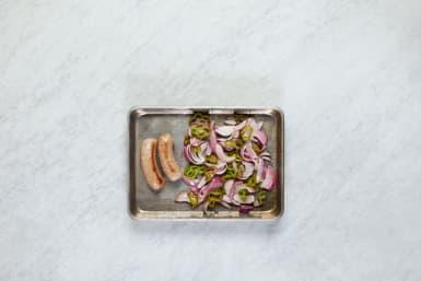 Roast Veggies and Sausage