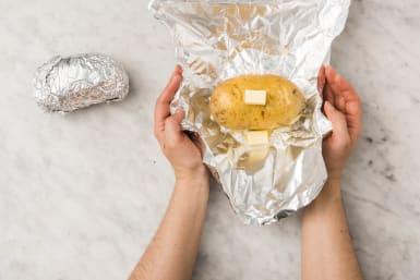 Pofaardappel inpakken