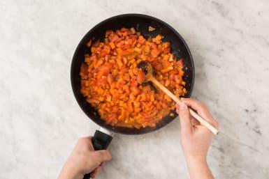 Faire mijoter les légumes