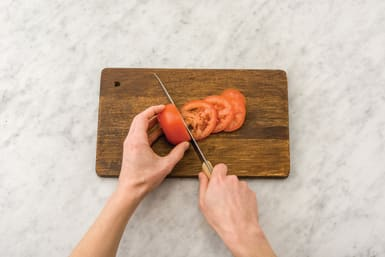 slice tomato