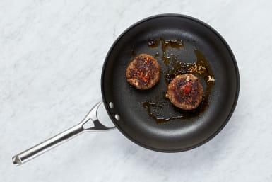 Cook Patties and Make Crema