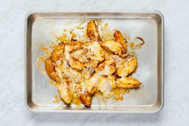 Top Potatoes and Make Salad