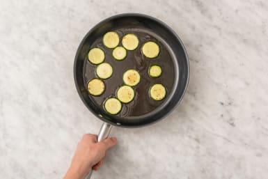 Courgette bakken