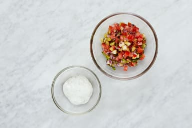 Make Cream and Salsa