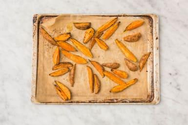 Süßkartoffeln zubereiten