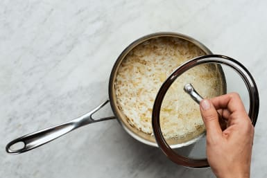 Prep and Cook Rice