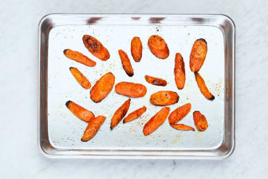 Roast Carrots and Boil Potatoes