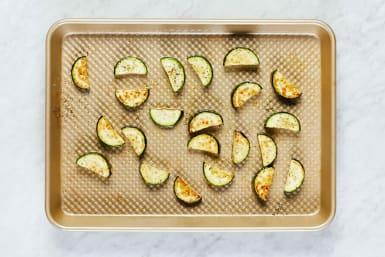 Prep and Broil Zucchini
