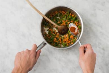 Krydda grönsaker