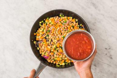 Häll i tomater