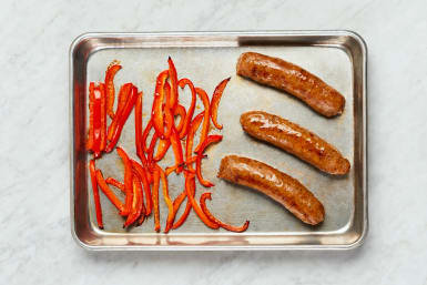 Roast Sausage and Pepper