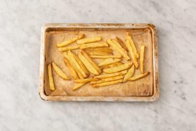 Laga potatisklyftor