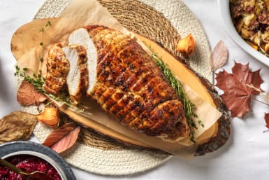 Thyme Roasted Rolled Turkey