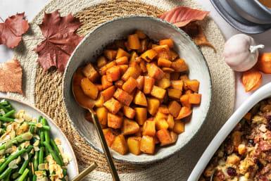Pumpkin Pie Spiced Squash