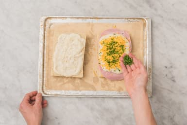 Brot belegen