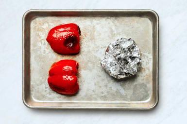 Roast Bell Pepper and Garlic