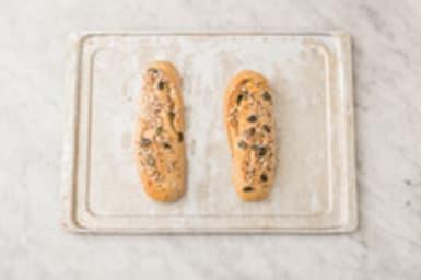 Baguettes bakken