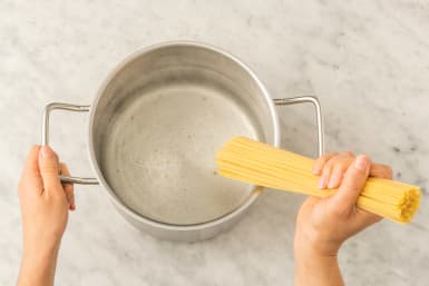 Cook the Wheat Pasta