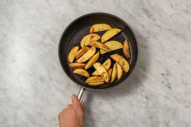Kartoffelecken zubereiten