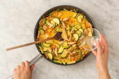 Currysoße vollenden