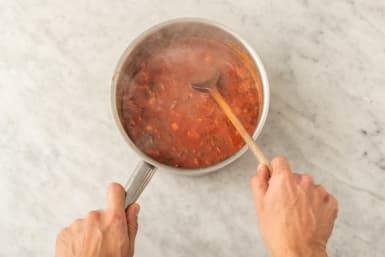 Koka upp soppa