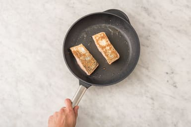COOK THE SALMON