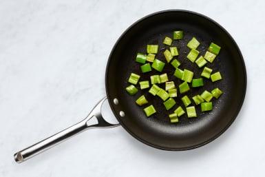 Cook Green Pepper