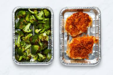 Roast Chicken and Broccoli