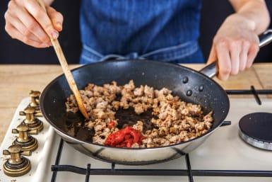 Add the Tomato Puree