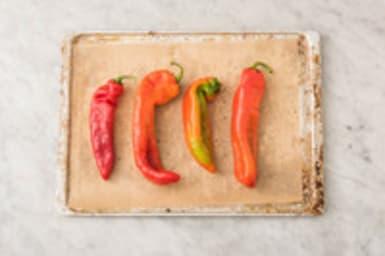 Paprika in de oven