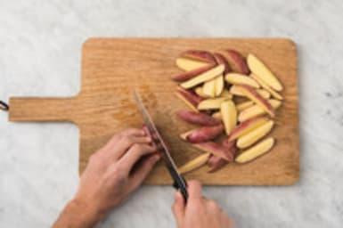 Aardappelen bakken
