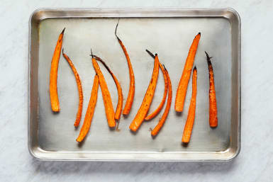 Roast Carrots and Prep