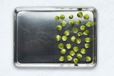 Arrange Brussels Sprouts