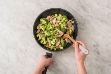 Stek kyckling & broccoli