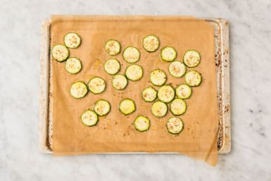 Zucchini backen
