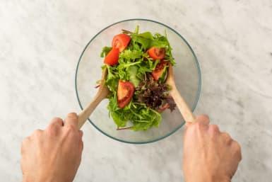 Faire de la salade