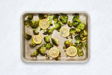 Roast Broccoli and Lemon