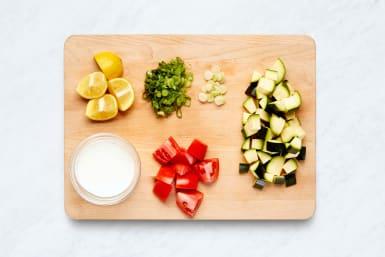 Prep & Make White Sauce