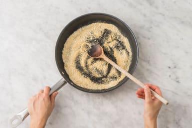 Make the Crispy Breadcrumbs