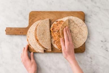 Make the Quesadillas