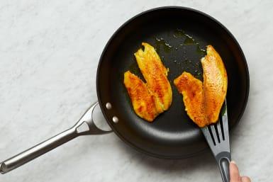Cook Fish and Make Sauce