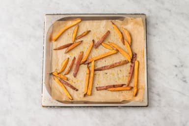 ROAST SWEET POTATO FRIES
