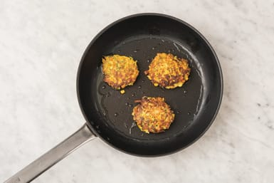 Fry fritters