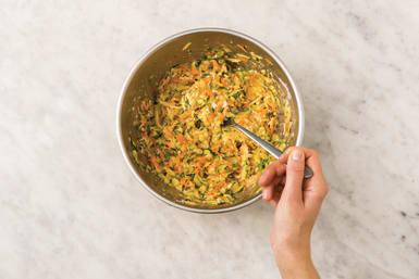 make fritter mixture