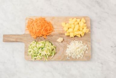Förbered grönsaker
