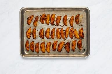 Roast Potatoes and Bacon