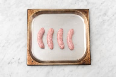 Bake the Sausages