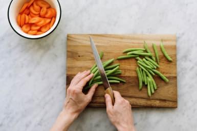 Gemüse zubereiten