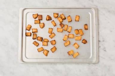 Croutons backen